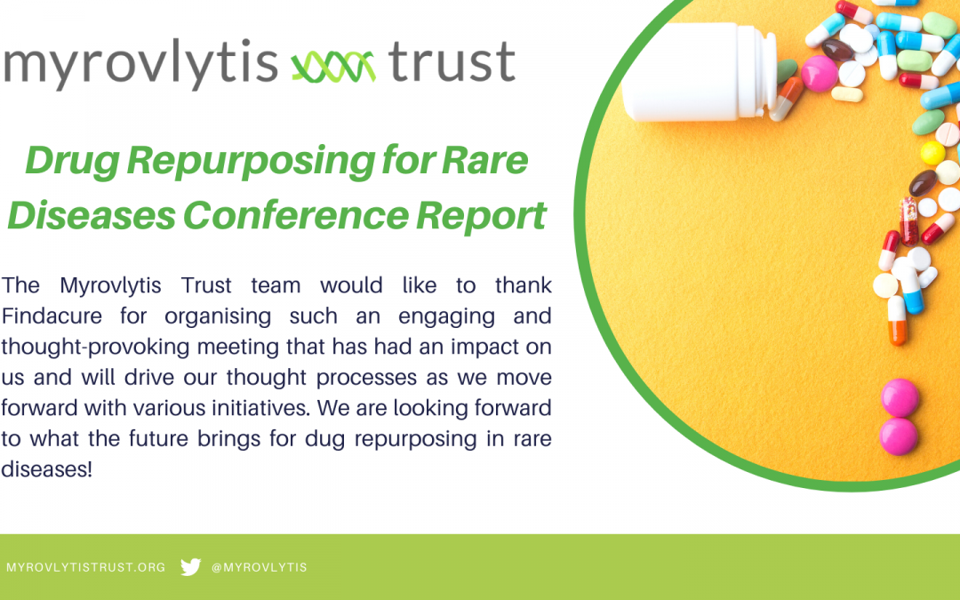 Findacure Drug Repurposing for Rare Diseases Conference 2021