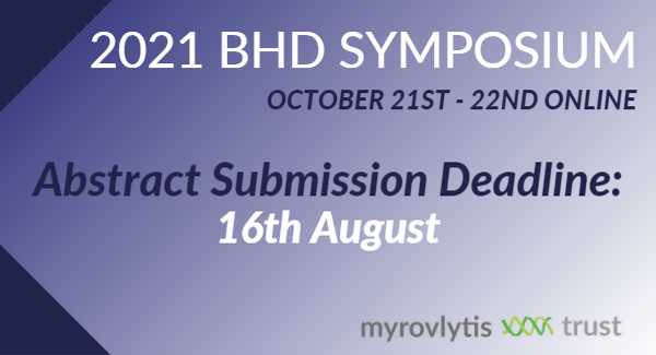 BHD Symposium Abstract Deadline – 16th August